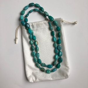 Jewelry - Sterling Silver and Turquoise Link Necklace